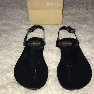 Michael Kors Black Jelly Sandal